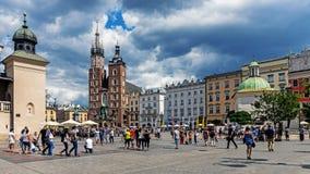 Vieja plaza del mercado Foto de archivo libre de regalías