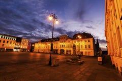 Vieja plaza en Bydgoszcz Fotos de archivo libres de regalías