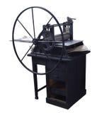Vieja prensa de copiar restaurada en el trabajo Imagenes de archivo