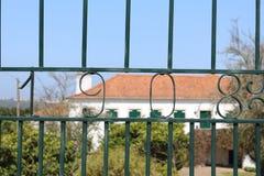 Vieja puerta Fotos de archivo