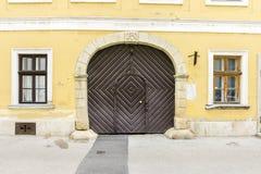 Vieja puerta Fotografía de archivo