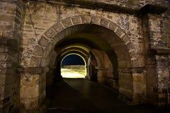 Vieja puerta antigua - monasterio Cetatuia - Iasi Foto de archivo