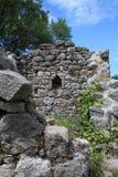 Vieja puerta de la barra Imagenes de archivo