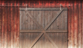 Vieja puerta de madera Fotografía de archivo libre de regalías
