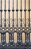 Vieja puerta del hierro Fotografía de archivo