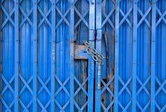Vieja puerta del hierro Fotos de archivo