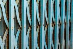 Vieja puerta del hierro Foto de archivo libre de regalías