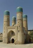 Vieja puerta del madrasah Foto de archivo libre de regalías