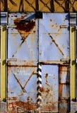 Vieja puerta del moho Foto de archivo