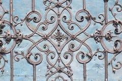 Vieja puerta en Wroclaw Fotos de archivo libres de regalías