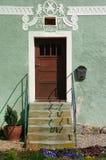 Vieja puerta principal Imágenes de archivo libres de regalías