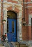 Vieja puerta principal Foto de archivo libre de regalías