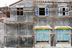 Vieja renovación de la casa Fotos de archivo libres de regalías