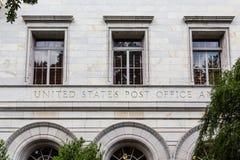 Vieja Savannah Post Office Imágenes de archivo libres de regalías