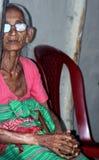 Vieja señora tribal Fotografía de archivo libre de regalías