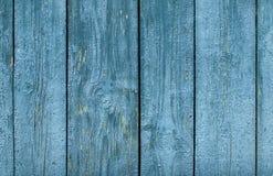 Vieja superficie de madera de las tiras y de los tablones de la pintura de la peladura Fotos de archivo