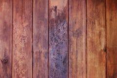 Vieja superficie del piso del fondo de madera de la textura imagen de archivo libre de regalías