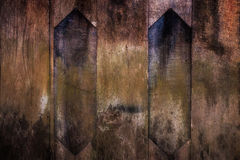 Vieja superficie del piso del fondo de madera de la textura fotografía de archivo libre de regalías