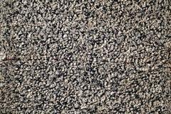 Vieja superficie gris de la toalla Fotografía de archivo