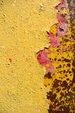 Vieja superficie oxidada del hierro Imágenes de archivo libres de regalías