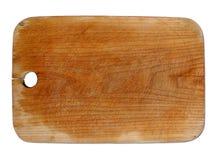 Vieja tarjeta de madera Fotos de archivo