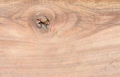 Vieja tarjeta de madera Foto de archivo libre de regalías