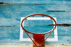 Vieja tarjeta del baloncesto Fotos de archivo