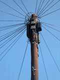 Vieja tecnología de las telecomunicaciones Fotografía de archivo libre de regalías