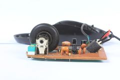 Vieja tecnología del ratón Fotografía de archivo