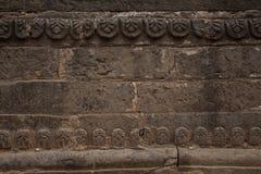 Vieja textura antigua de la pared de piedra Fotografía de archivo