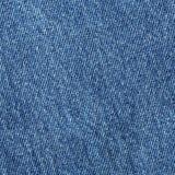 Vieja textura azul del paño de la mezclilla o del dril de algodón Imagen de archivo