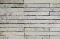 Vieja textura blanca de la pared de ladrillo para el fondo fotografía de archivo libre de regalías