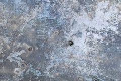 Vieja textura de aluminio de la placa imagen de archivo