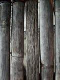 Vieja textura de bambú Fotografía de archivo libre de regalías
