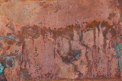 Vieja textura de cobre imágenes de archivo libres de regalías