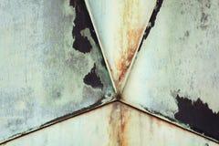 Vieja textura de cobre amarillo imagenes de archivo