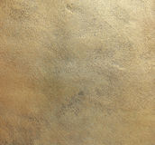 Vieja textura de cobre de la placa Foto de archivo