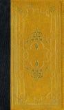 Vieja textura de cuero con el marco decorativo imagenes de archivo