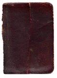 Vieja textura de cuero rota del libro imagen de archivo