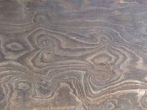 Vieja textura de la madera contrachapada Imágenes de archivo libres de regalías