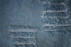 Vieja textura de la mezclilla foto de archivo libre de regalías