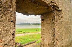 Vieja textura de la pared Fotografía de archivo libre de regalías