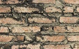 Vieja textura de la pared de ladrillo Foto de archivo libre de regalías