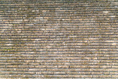 Vieja textura de la pared de ladrillo para el fondo en el templo Foto de archivo