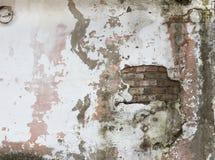 Vieja textura de la pared de ladrillos de Grunge Imágenes de archivo libres de regalías