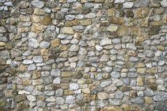 Vieja textura de la pared de piedra Foto de archivo libre de regalías
