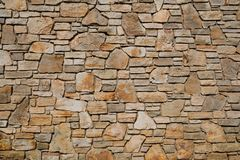 Vieja textura de la pared de piedra Foto de archivo