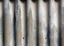 Vieja textura de la pared del metal Foto de archivo