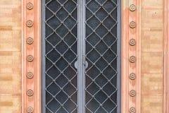 Vieja textura de la puerta Fotos de archivo