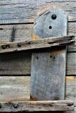 Vieja textura de la puerta fotografía de archivo libre de regalías
